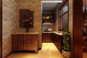 中式风格客厅橱柜