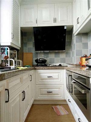 美式小厨房橱柜
