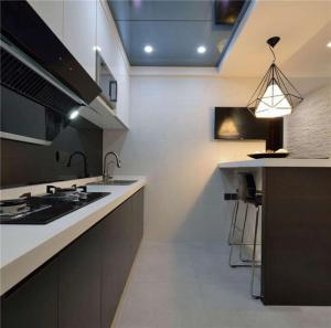 北欧风格小厨房橱柜