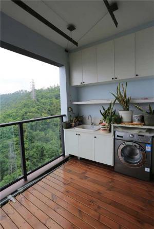 阳台洗衣池效果图欣赏