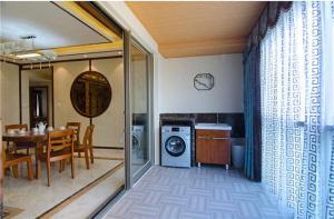 阳台洗衣池效果图设计