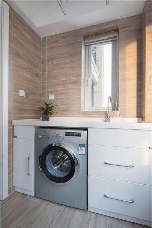 阳台洗衣池效果图家具