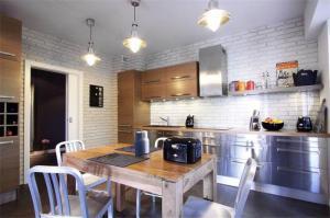 美式不锈钢厨房橱柜