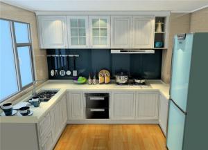 现代风格整体厨房橱柜