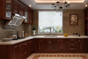 复古瓷砖厨柜