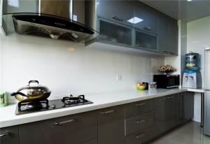 高档不锈钢厨房橱柜