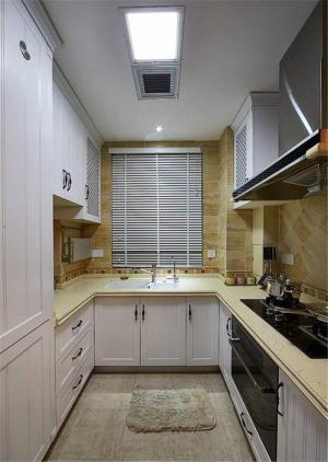 美式厨房整体橱柜