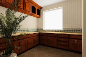 大户型瓷砖厨柜