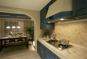地中海瓷砖厨柜