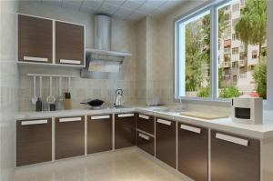 铝合金厨房整体橱柜