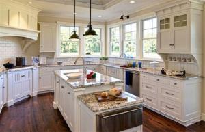 阳台改造厨房整体橱柜