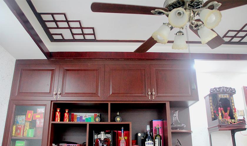 【中式装修案例】一家五口巧用家具 玩转106�O新中式风格